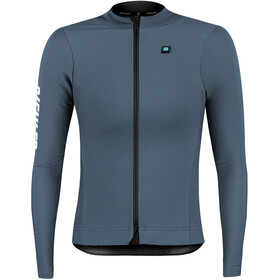 Biehler Thermal Rain LS Jersey Women, dark silver
